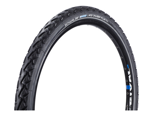 "SCHWALBE Land Cruiser Plus Active PunctureGuard copertone 26"" file metallico Reflex nero"